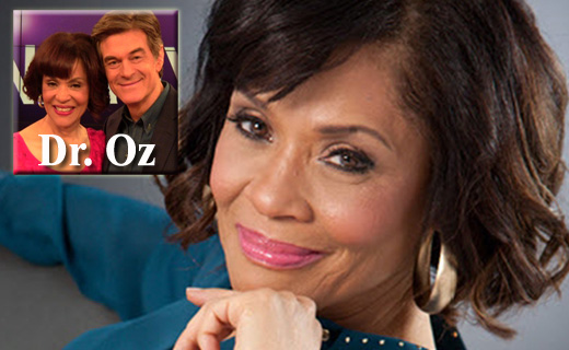 Dr. Brenda Wade with Dr. Oz